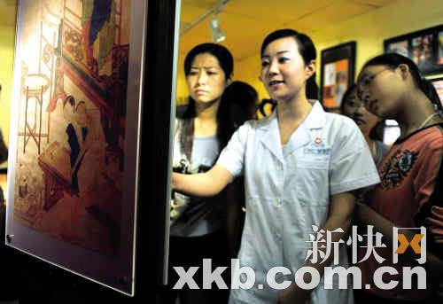 昨日,全国首个女性性文化馆在广州开馆,该馆只对女性参观者开放。