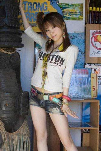 日本美媚激情开放_组图:日本美女明星田中激情写真