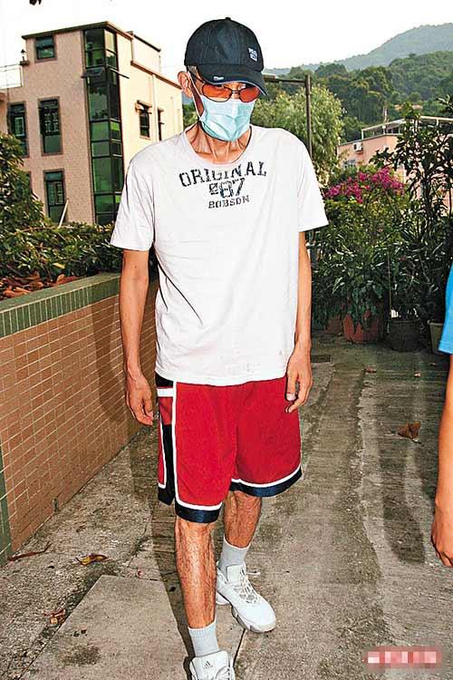 上月底尹志强还在大埔寓所外散步,想不到一星期后便再度入院