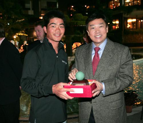 观澜湖朱树豪博士对中国高尔夫寄予厚望。