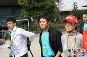图文:F1中国站一触即发 国际巨星李连杰现身