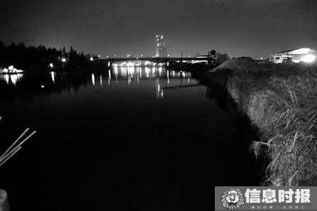 胡某的尸体在珠江水泥厂附近码头被发现。本版摄影 信息时报记者