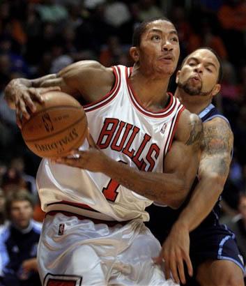 罗斯 威廉姆斯/图文:[NBA]公牛VS爵士威廉姆斯严防罗斯
