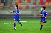 图文:[中超]天津VS河南 张璐庆祝进球