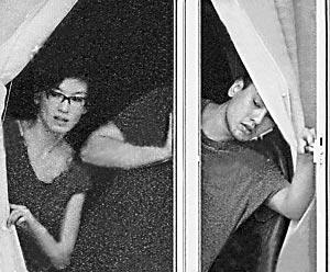 林熙蕾与朱孝天曾被拍到同居的照片