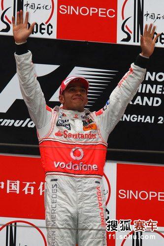 图文:F1中国站正赛 汉密尔顿再夺第一