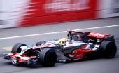 图文:F1中国站正赛汉密尔顿夺冠 领跑诸强