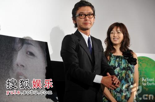 日本参赛片《无语之冬》首映