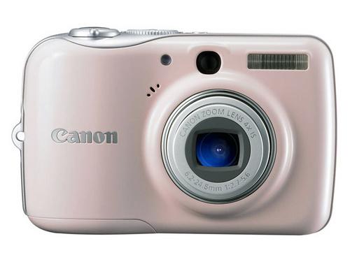 千万像素4X光变 佳能时尚防抖相机E1上市