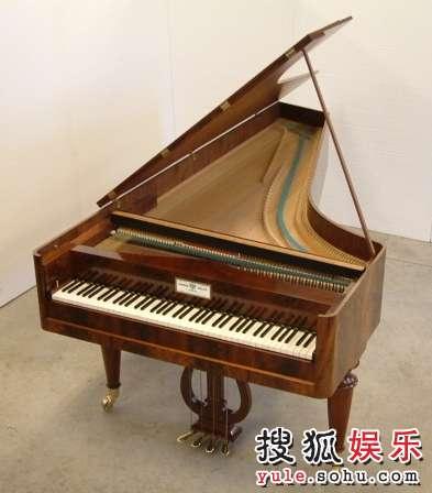 图:荷兰音乐节 古钢琴3图片
