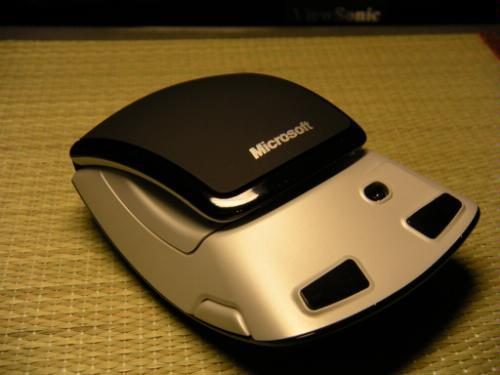 微软最新弧形鼠标1