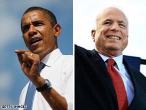 美国人认为麦凯恩对奥巴马的指责不公