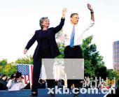 佛州提前投票创纪录 奥巴马领先8个百分点(图)
