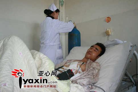 曾海翔目前仍然在医院接受治疗。