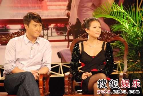 章子怡黎明到李湘的节目做客