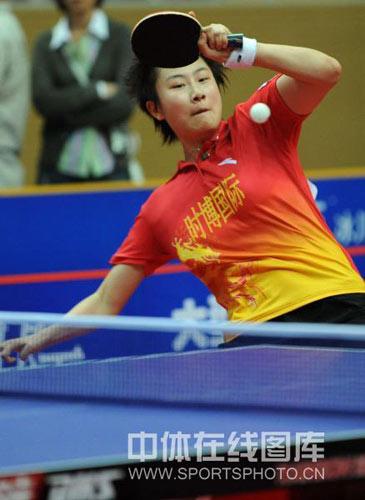 7大叔论坛新人图片1-今天,2008中国乒乓球超级联赛进入到第五轮的争夺.在一场焦点赛事