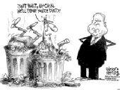 美国第2轮总统辩论上午进行 重提麦凯恩丑闻