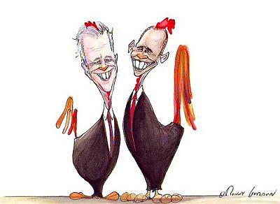 """民主党最终由""""奥拜配""""出马竞选下任总统。原载《耶路撒冷邮报》"""