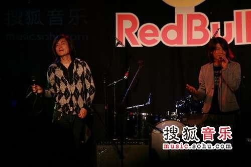 能量音乐现场10月演出精彩图  田华、杜磊组合