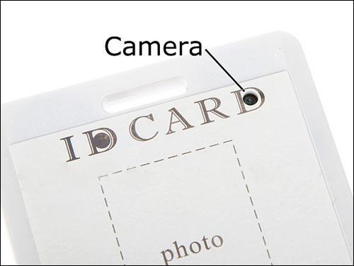 胸卡型针孔摄像机