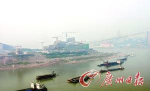 这里将建成重庆未来的CBD。
