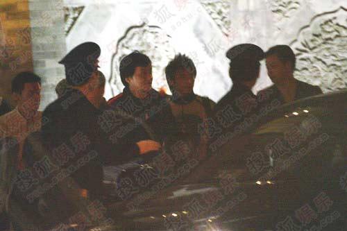 成龙京城夜设宴