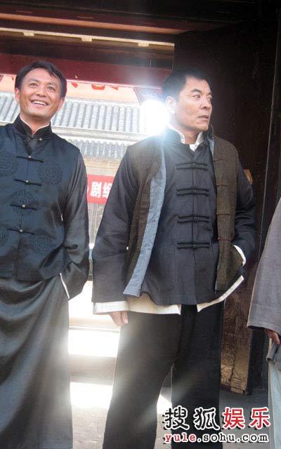 """刘威意外探班""""铁三角"""""""