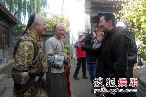 谈到儿子,刘威面露喜色