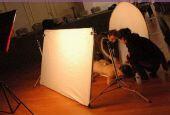 图文:意大利高球女星苏菲桑德罗 写真工作花絮