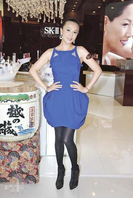 婚后成为梁太的刘嘉玲,肥了,靓了,又开心了