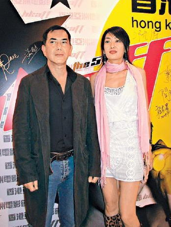秋生与孟广美日前齐齐现身电影首映礼。