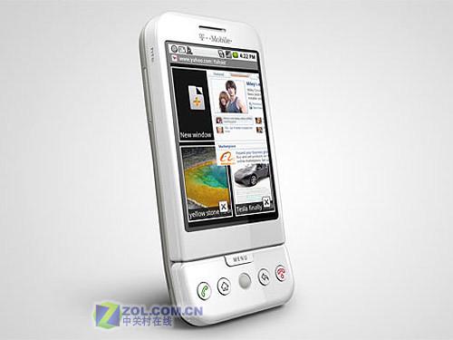 """谷歌""""Android梦想""""成真T-Mobile G1发布"""