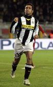 图文:尤文图斯2-0罗马 马尔基奥尼庆祝进球
