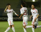图文:[亚青赛]国青6-0塔吉克 庆祝进球