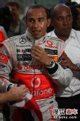 图文:F1巴西大奖赛正赛 汉密尔顿夺总冠军
