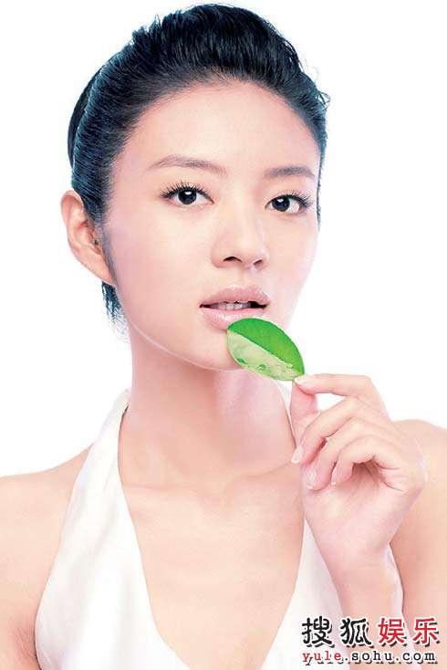 安以轩首次曝光的全新广告形