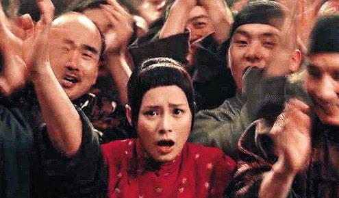 阿娇在《梅兰芳》的戏份全部被删除