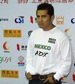 图文:WBC世界拳王争霸赛 巴雷拉目光如炬