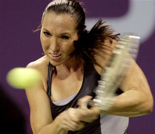 图文:WTA年终总决赛 扬科维奇横扫伊万诺维奇