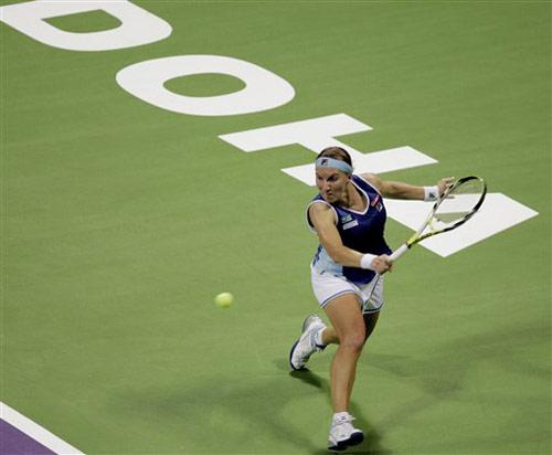 图文:WTA年终总决赛 库兹涅佐娃惨遭单打5连败