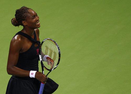 图文:WTA年终总决赛 大威廉姆斯一脸懊恼