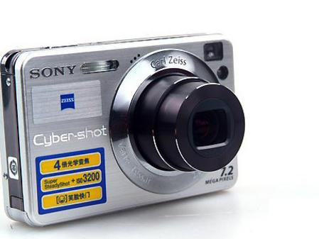 高性价比卡片机 索尼W120国庆套装促销