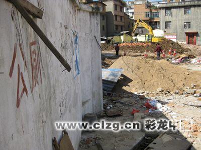 下栗村唯一的公厕已被拆除 记者 张猛/摄