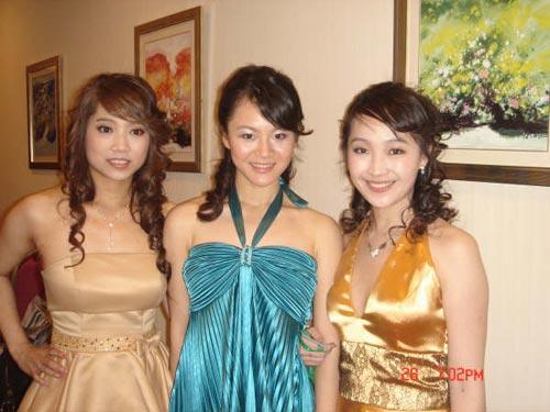 三位美女世界冠军