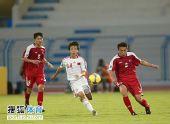 图文:[亚青赛]中国0-0朝鲜 奋力向前