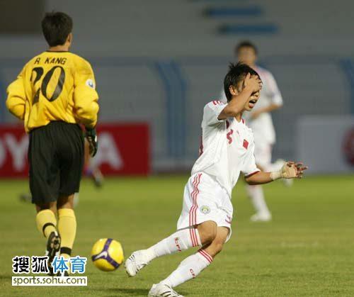 图文:[亚青赛]中国0-0朝鲜 婉辞错失机会