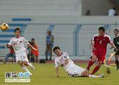 图文:[亚青赛]中国0-0朝鲜 封堵不及