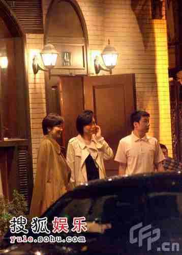 林青霞与好友狄龙的太太陶敏明