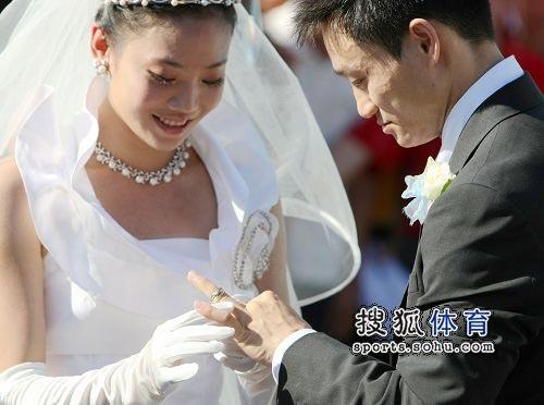 交换结婚戒指