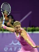 图文:网球WTA年度总决赛 萨芬娜0-2负于小威